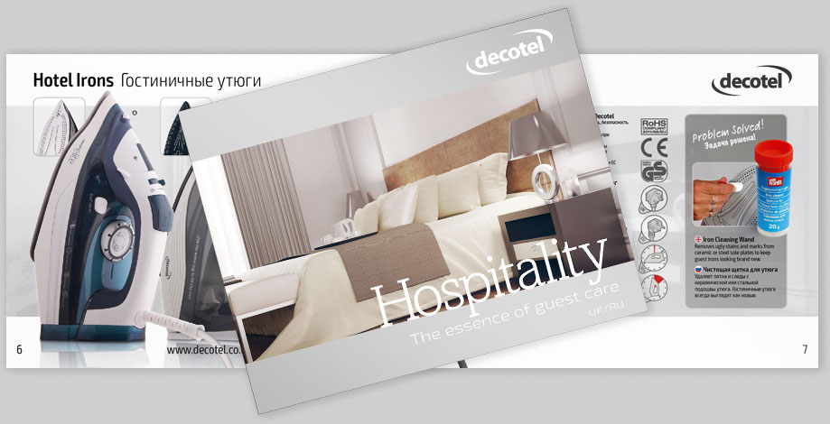 Decotel's latest Hopsitality brochure